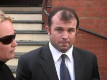 Craig Field outside the court during a previous  hearing. Photo Wikipedia