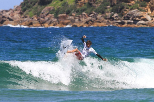 Sydney's Cooper Chapman will be featuring in both Pro Junior and ASP 6-Star divisions. Photo ASP/Dunbar