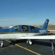 A SOCATA TB-20, similar to the one that crashed near Lismore Airport.