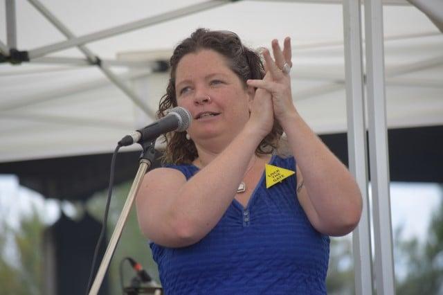 Gasfield Free Northern Rivers regional coordinator Elly Bird. (file pic)