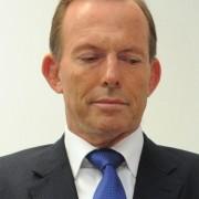 Australian prime minister Tony Abbott.