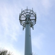 An NBN tower at another location. Ballina council has approved the erection of a tower at Uralba. Photo Marie Cameron