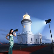 Festival-Director-Jaimee-Skippon-Volke-Calling-Out-at-the-Byron-Bay-Lighthouse