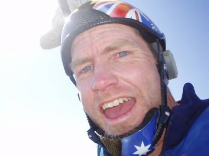 A memorial service will be held in Sydney today (April 14) for Michael Vaughan, who was killed in a skydiving accident in Byron Bay on March 28. Photo skydive.com.au
