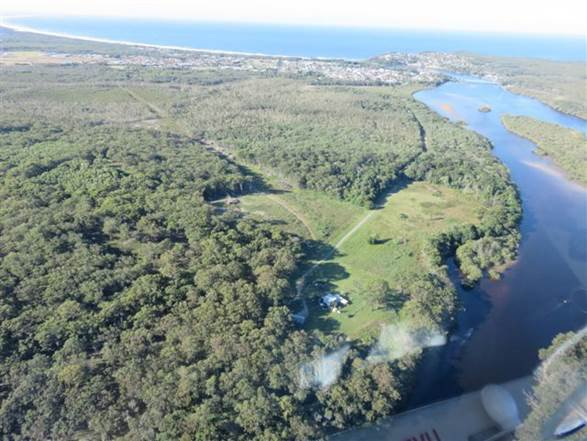 The sensitive site of the controversial planned Iron Gates development, which the state government has refused to consider without a masterplan. Photo Supplied