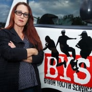 Standing up for the kids: local screenwriter and producer Deb Cox has made a large donation to BYS after hearing it would fold without community support. Photo Eve Jeffery