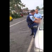 Video captures motorist's arrest in Mullumbimby