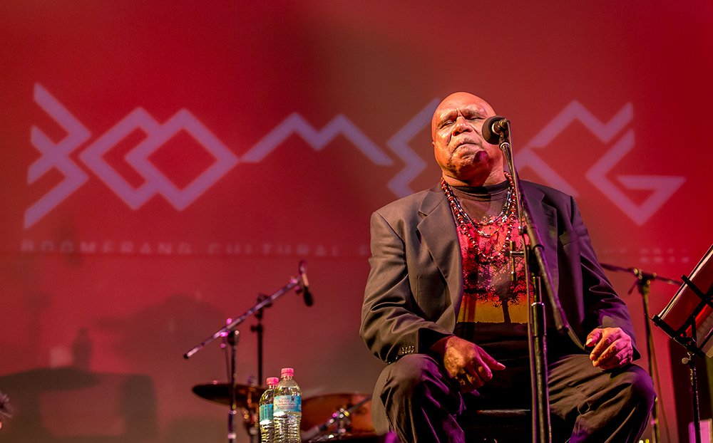 Archie Roach at Boomerang Festival