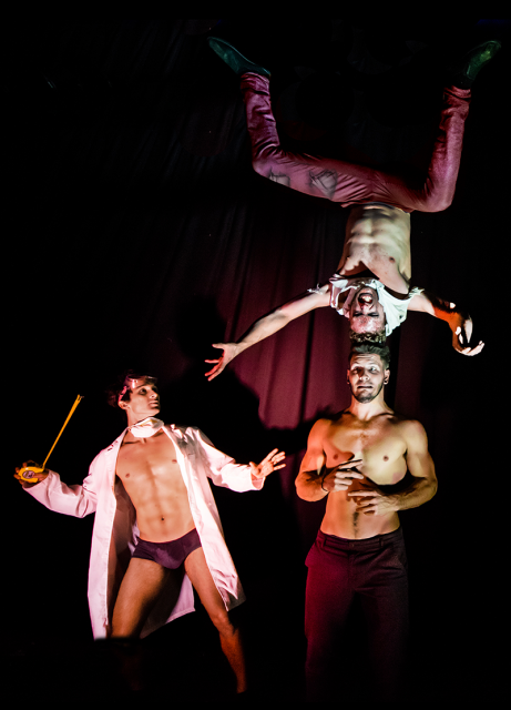 International award-winning acrobatic show Elixir at the Byron Theatre on Friday