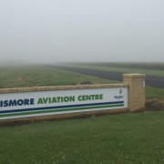 New runway lighting will be installed at Lismore airport to help deal with fog. It coincides with a planned expansion of the Lismore Aviation Centre. Photo contributed