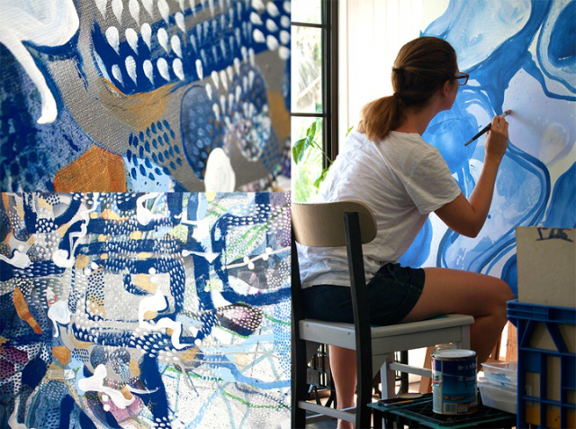 Sarah Daly's rare Exhibition opens at Zakay Glass Creations in Bangalow on Saturday