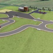 An artist's impression of the proposed driver training track. (supplied)