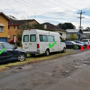Cars legally and illegally parked in Diadem Street. Photo Lismore City Council