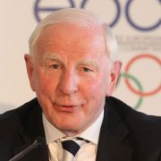 President of the Irishi Olympic Committee Patrick Hickey, who has been arrested in Rio de Janeiro, Brazil, over alleged illegal ticket sales for the Olympic games. EPA/Tibor Illyes