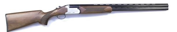 A double-barrel shotgun that was stolen in July. (supplied)