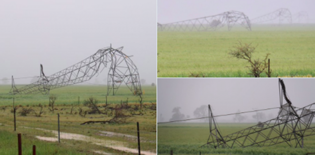 High-voltage transmission lines were brought down by a freak weather event which caused the SA blackout, yet the mouthpiece for the coal industry, the coalition government, wants us to believe renewable energy is to blame.
