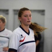 After playing competitive football for 13 years Krista has made the Australian Futsal side. Photo Supplied