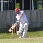 Matt hit this six in round two on his way to 96, and carried his form into last week scoring 54. Photo Anthony Smith