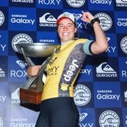 Tyler Wright secured the title after nearest rival Courtney Conlogue's semi-final loss. Photo WSL