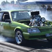 Killaset, one of the entries in the Summernats skid competition. Photo Summernats Facebook page