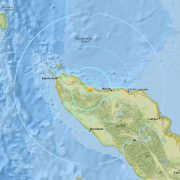 Epicentre of one of the Aceh earthquakes. Image earthquake.usgs.gov