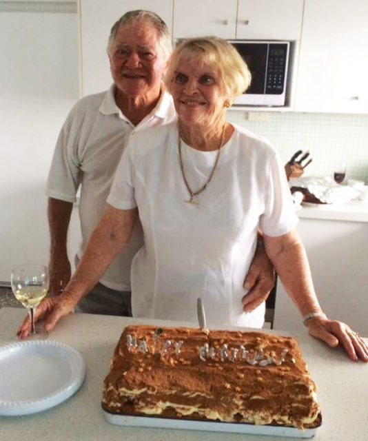 Denis and Barbara Lynch are about to celebrate their 60th wedding anniversary. Photo Tracey Knowland