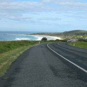 The Coast Road at Skennars Head is in danger of being blighted by strip development and traffic lights, according to Ballina Shire Cr Jeff Johnson. Photo Experimental Ghost