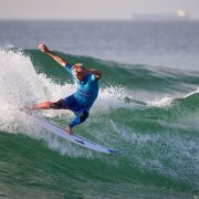 Stu Kennedy in complete control. Photo WSL/Smith