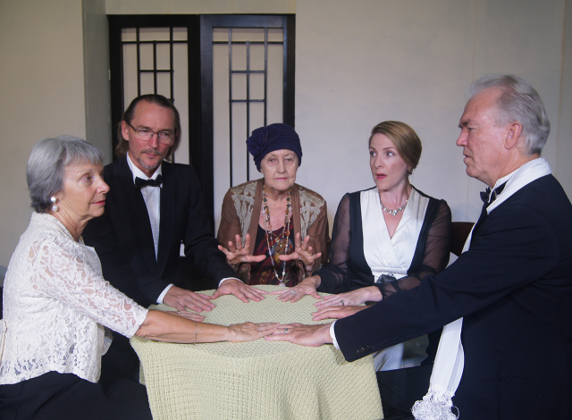 Blithe Spirit, presented by The Ballina Players at the Ballina Players Theatre from Friday till Sunday until 1 April