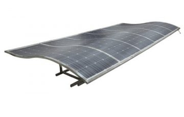 A solar car park design proposed by Energus and Stratco. Photo RenewEconomy