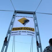 The Commonwealth Bank is being urged to stop investing in unconventional gas and coal mining. (Facebook)