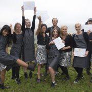 Graduating Vegan Chefs_Credit Cheryl Styles