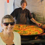 Jo Colja and the artistic paella_BallinaFineWine+Food Fest