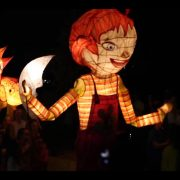 The Tweed River Festival's lantern parade last year. Photo Tweed Shire Council