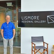 Lismore Regional Gallery Director Brett Adlington. Photo supplied.