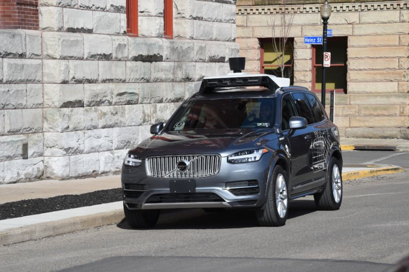 Uber plans to buy 24000 self-driving cars from Volvo