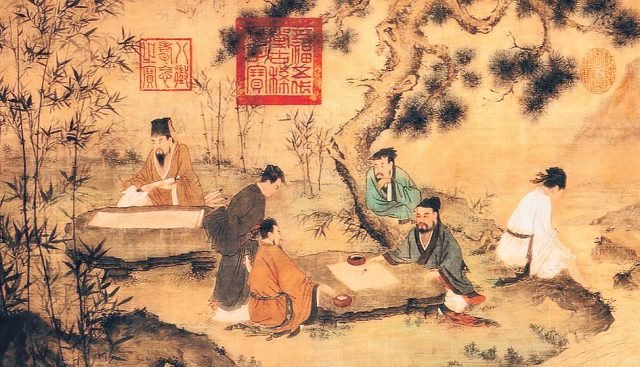 Casual in appearance but not in practice: Chinese bureaucrats from 221 BCE onwards produced the best reports, strategies and forward planning instruments, all with impeccable calligraphy and under a strict Confucian framework that aimed to prevent corruption. Image www.fpif.org