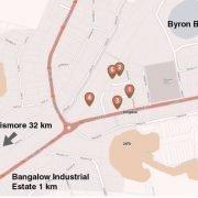 bangalow-map