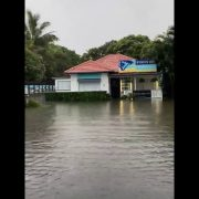 Flooding in Byron Bay town centre