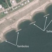Tombolo-and-salient-formation