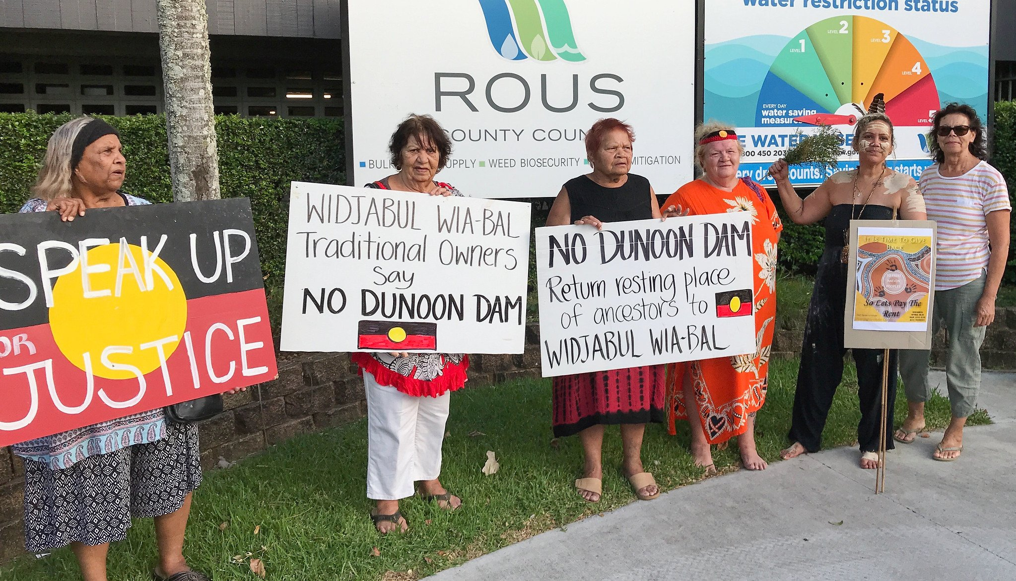 No means no, say traditional owners